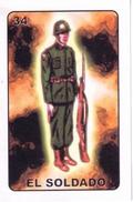 Loteria card: El Soldado
